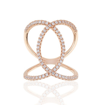 Sif Jakobs Jewellery Fucino SJ-R0059-CZ(RG)