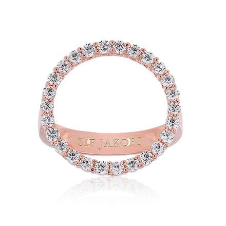 Sif Jakobs Jewellery Biella Grande SJ-R3120-CZ(RG)