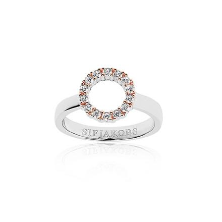 Sif Jakobs Jewellery Biella Piccolo SJ-R337-CZ(RG2)