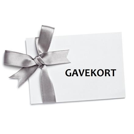 Gavekort - vælg selv beløb