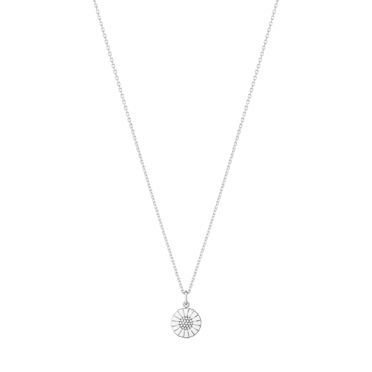 Georg Jensen Daisy halskæde m/diamanter 10010534