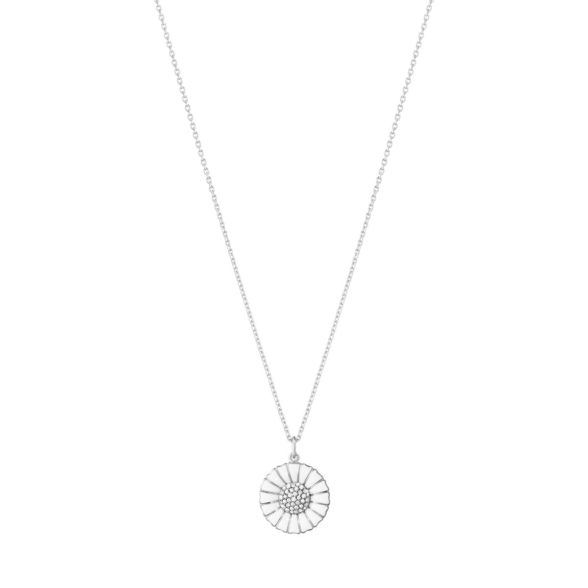 Georg Jensen Daisy halskæde m/diamanter 10010536