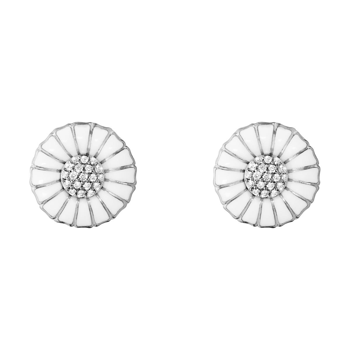Georg Jensen Daisy øreringe m/diamanter 10010538