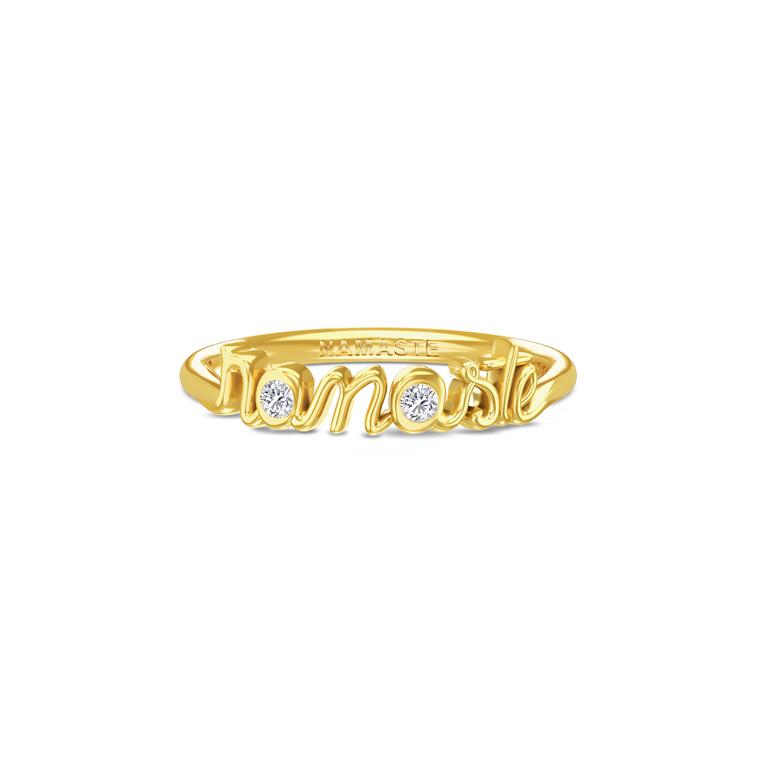 Aura Jewelry Namaste ring 4035