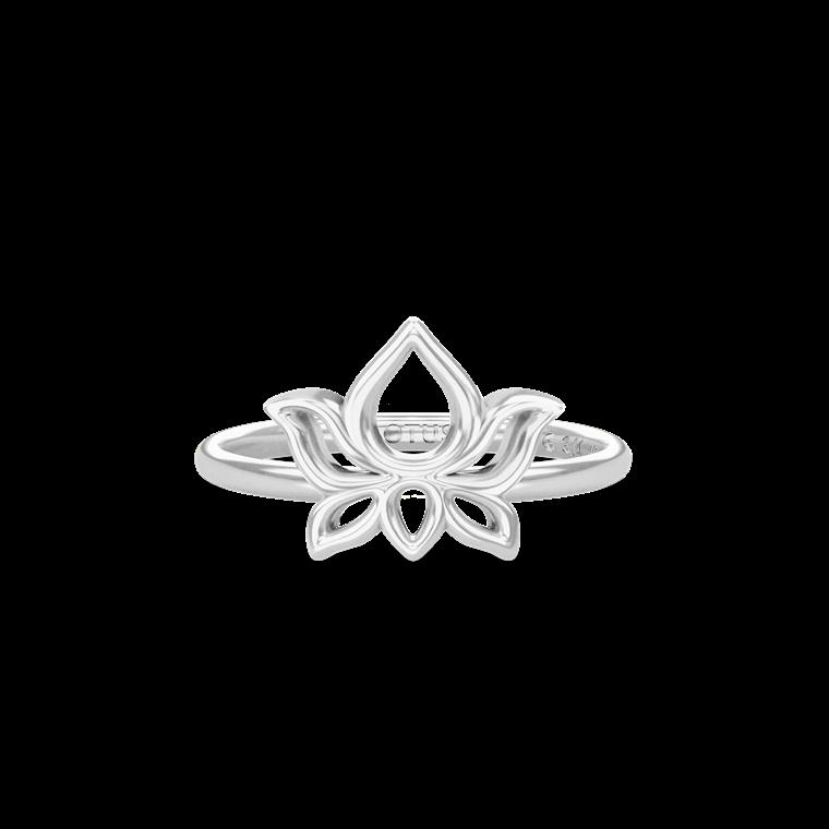 Aura Jewelry Lotus ring 4059