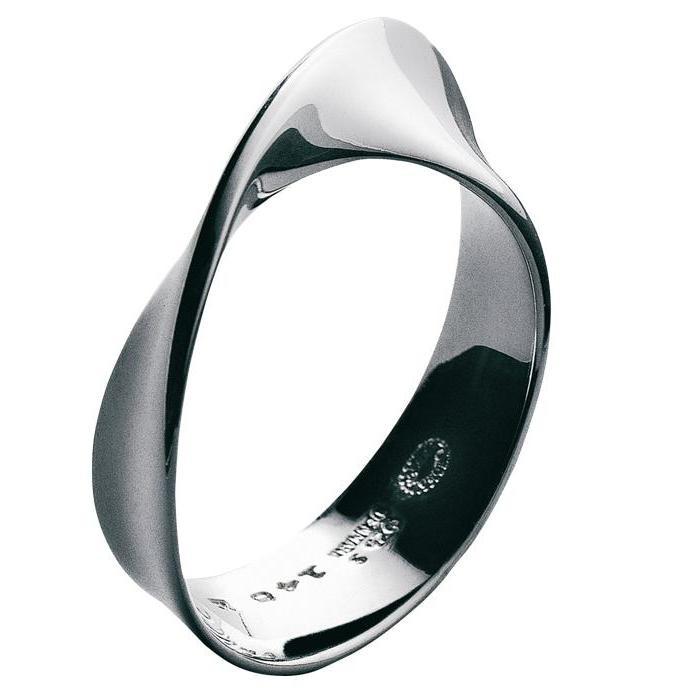 Georg Jensen Möbius ring 3551340