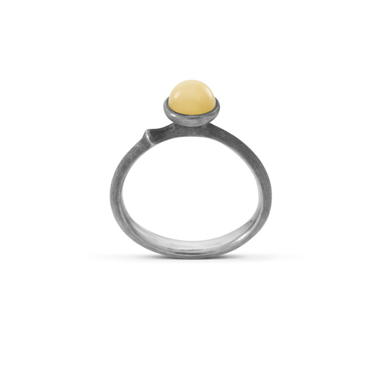 OLE LYNGGAARD COPENHAGEN Silver Lotus 0 ring A2708-301