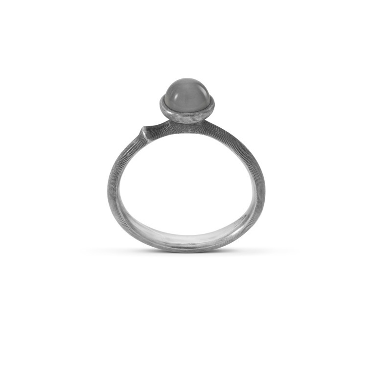 OLE LYNGGAARD COPENHAGEN Silver Lotus 0 ring A2708-303