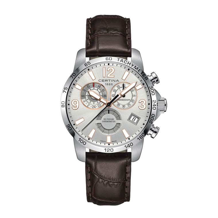 Certina DS Podium Chronograph GMT C034.654.16.037.01