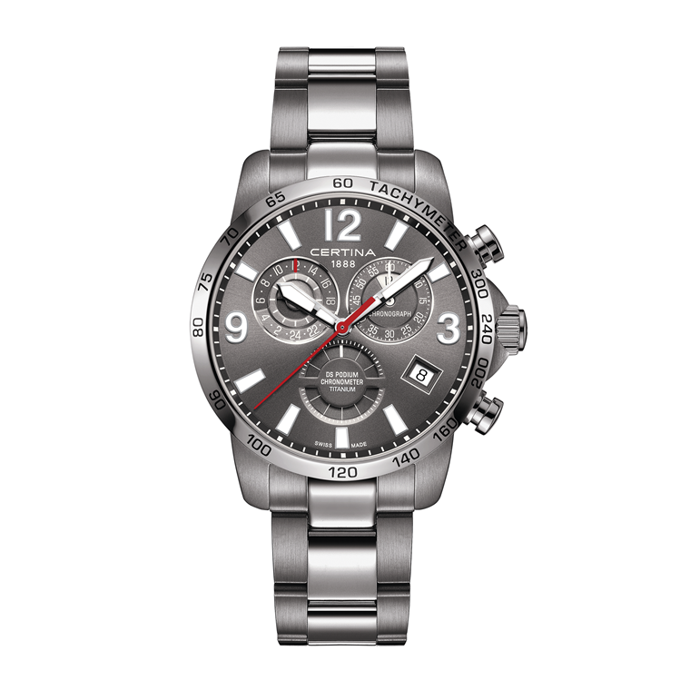 Certina DS Podium Chronograph GMT C034.654.44.087.00