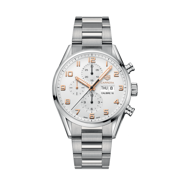 Tag Heuer Carrera 43mm CV2A1AC.BA0738