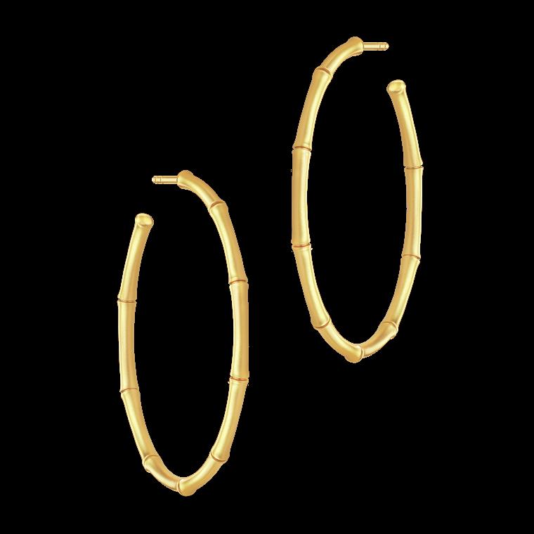 Julie Sandlau Bamboo øreringe HPM80 GD