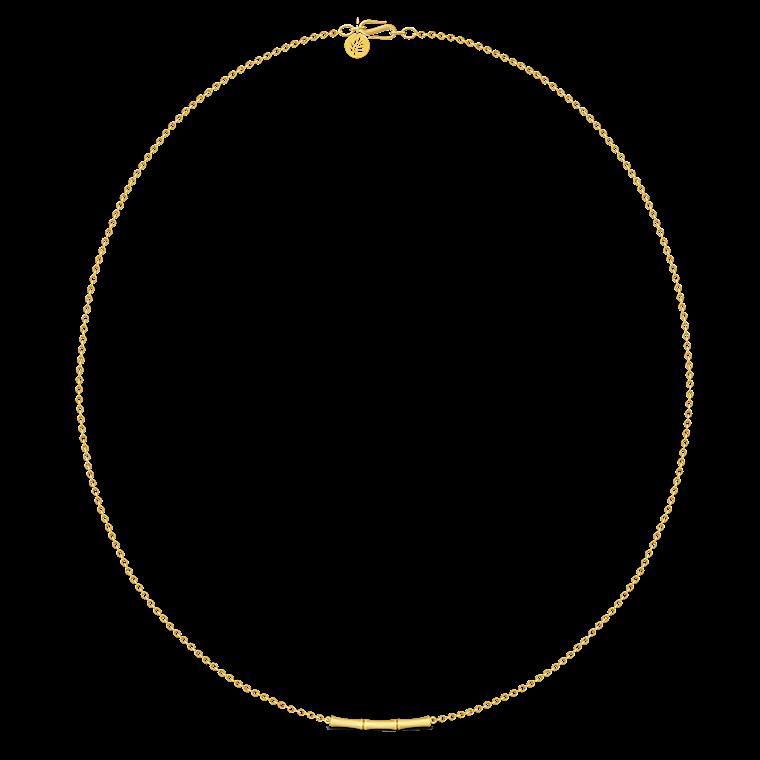 Julie Sandlau Bamboo halskæde 45cm NL387 GD