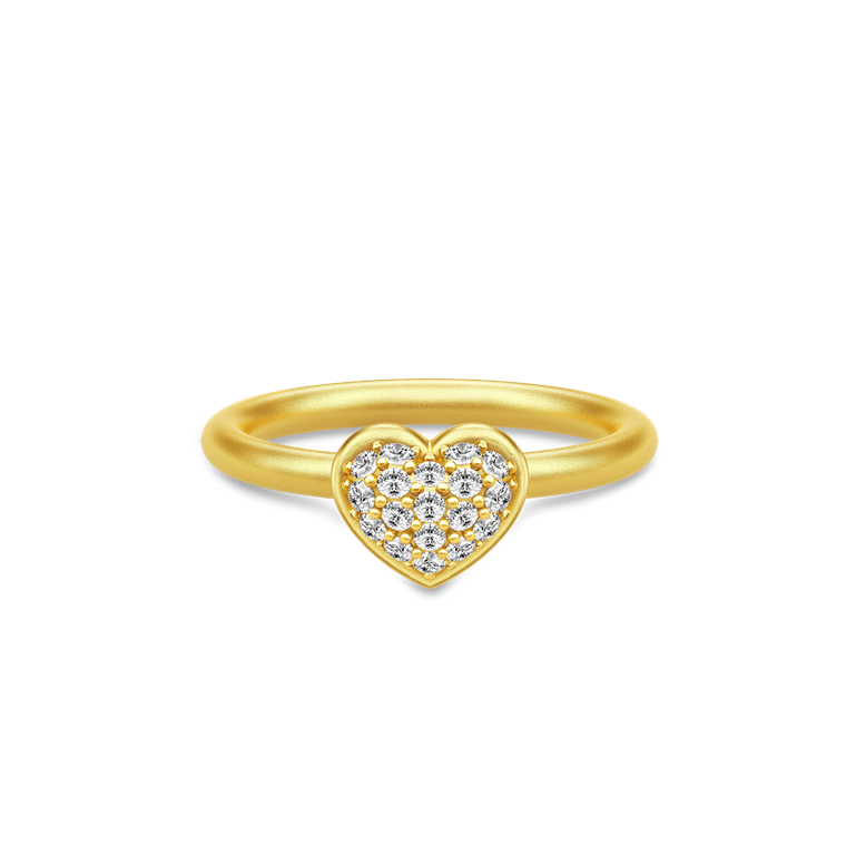 Julie Sandlau Pure Heart RI187 GD CZ