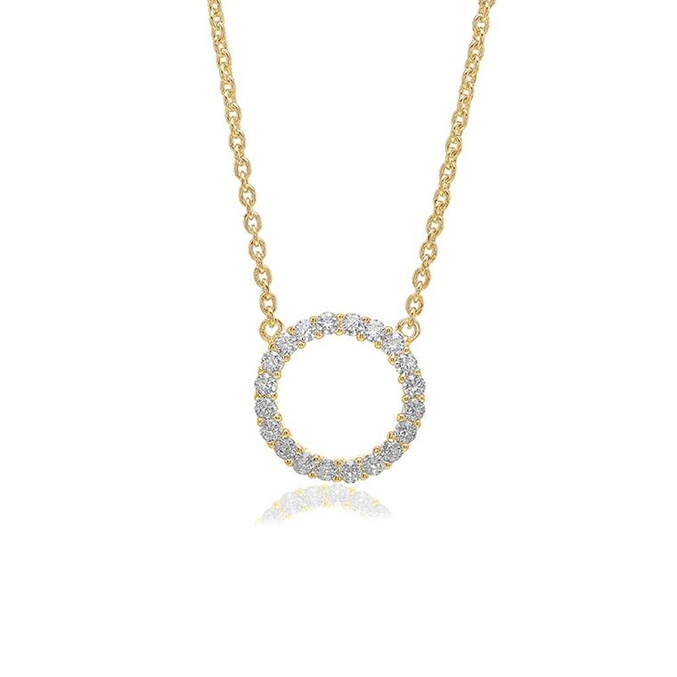 Sif Jakobs Jewellery Biella Grande SJ-C338(1)-CZ(YG)