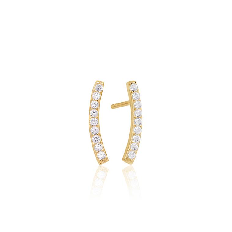 Sif Jakobs Jewellery Fucino SJ-E1015-CZ(YG)