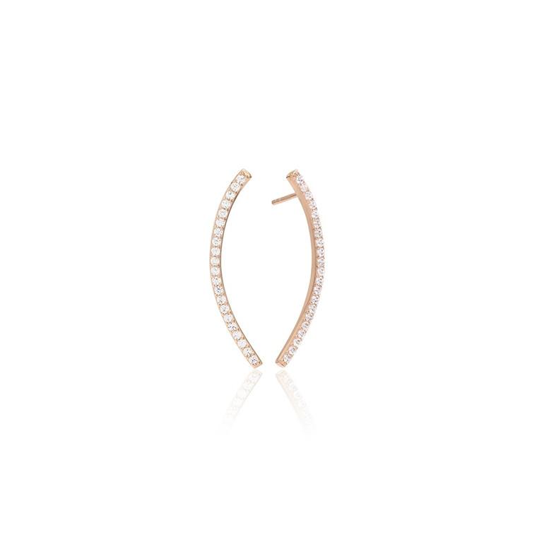 Sif Jakobs Jewellery Fucino Grande SJ-E1017-CZ(RG)