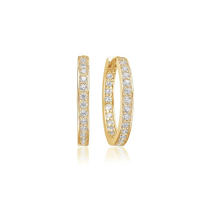 Sif Jakobs Jewellery Corte SJ-E1540-CZ(YG)