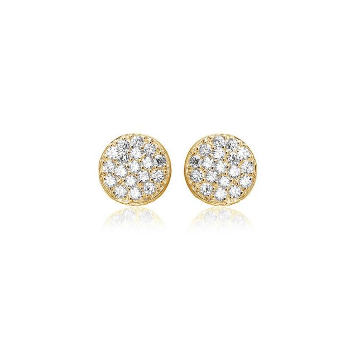 Sif Jakobs Jewellery Sacile SJ-E2071-CZ(YG)