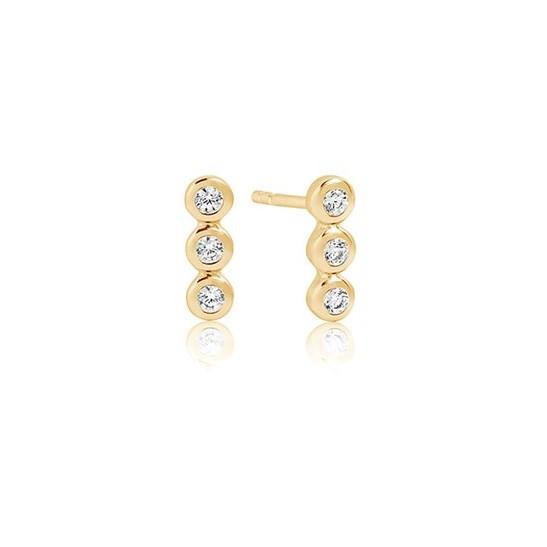 Sif Jakobs Jewellery Sardinien SJ-E2640-CZ(YG)