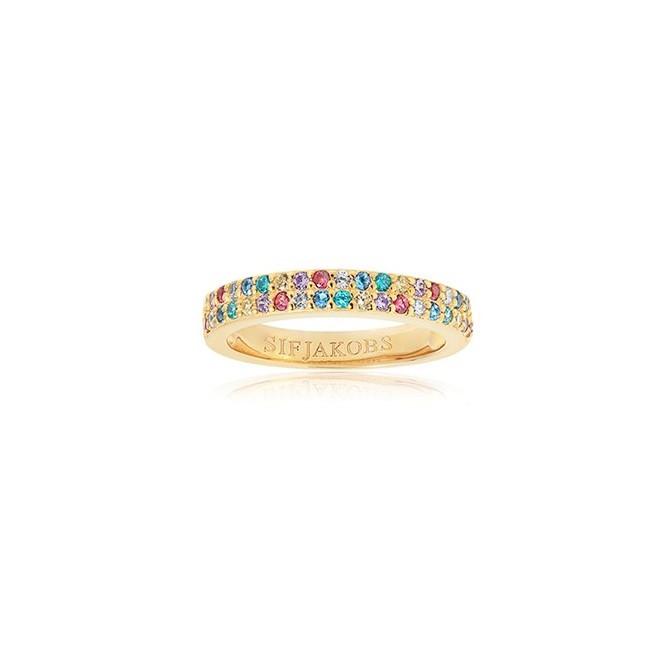Sif Jakobs Jewellery Corte Due SJ-R10762-XCZ(YG)