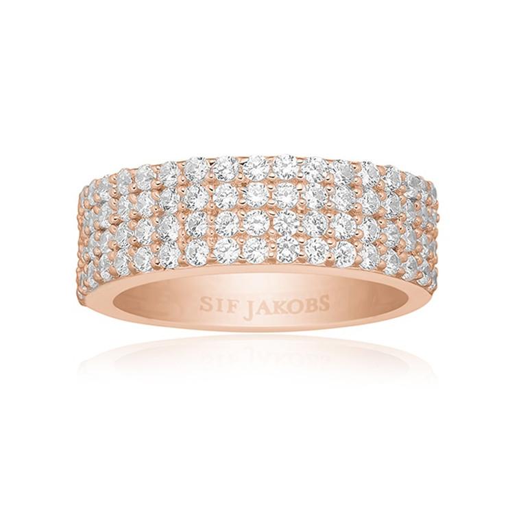 Sif Jakobs Jewellery Corte Quattro SJ-R10764-CZ(RG)