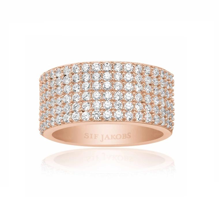 Sif Jakobs Jewellery Corte Cinque SJ-R10766-CZ(RG)
