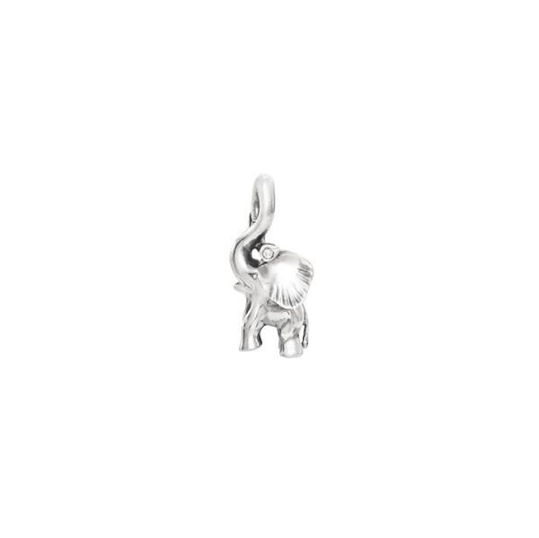 OLE LYNGGAARD COPENHAGEN Silver Sweet Drops charm Elephant A1383-301