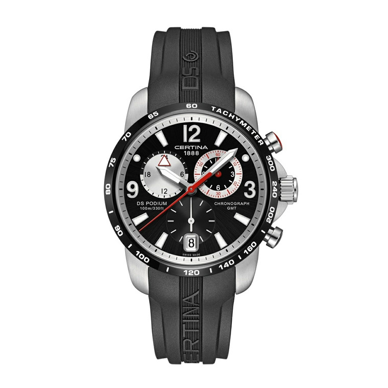 Certina DS Podium Chronograph GMT C001.639.27.057.00