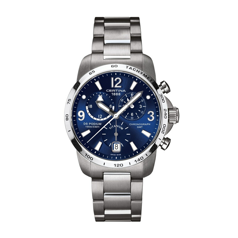 Certina DS Podium Chronograph GMT C001.639.44.047.00