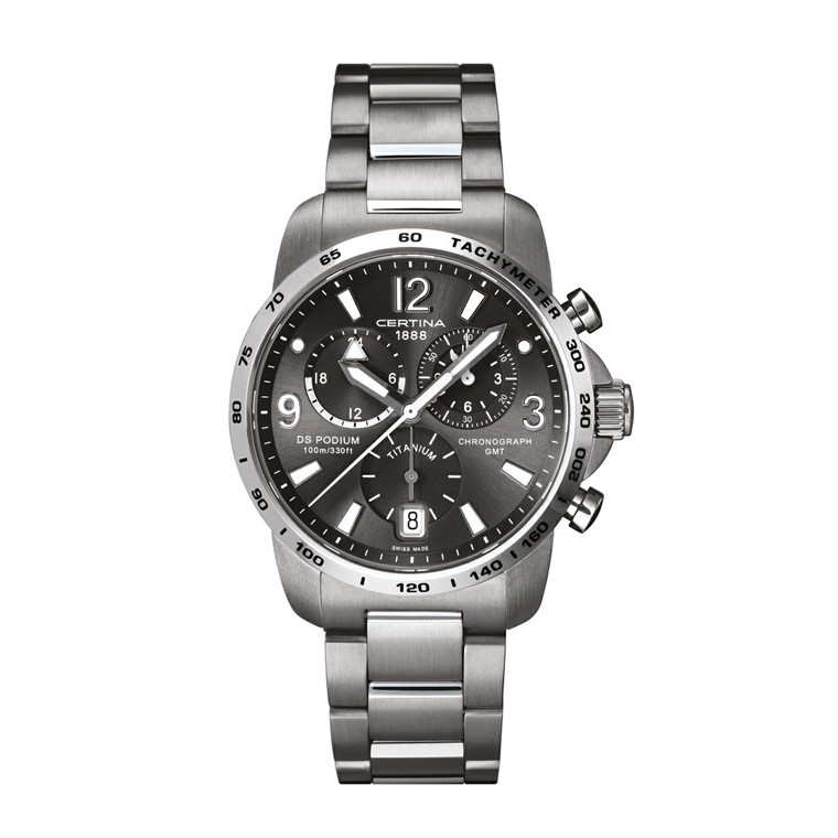 Certina DS Podium Chronograph GMT C001.639.44.087.00
