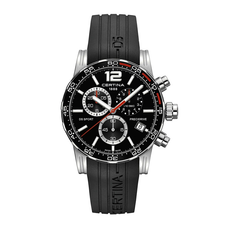 Certina DS Sport Chronograph 1/10 Sec C027.417.17.057.02
