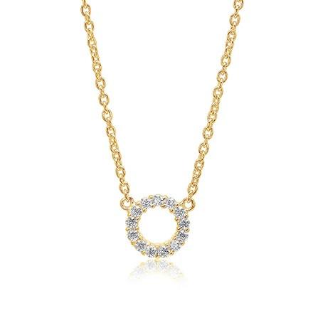Sif Jakobs Jewellery Biella Piccolo SJ-C337(1)-CZ(YG)