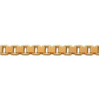 BNH Halskæde 14 kt. Rødguld Venezia 50 cm
