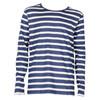 101522 Mads Nørgaard T-shirt L/Æ MARINE