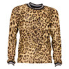 4507741 D-xel Vika741 Leopard bluse BRUN