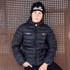 S3G09995 ELLESSE Padded Jacket SORT