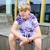 2210418 Hound Tie Dye T-shirt LILLA