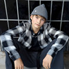 IB0IB00644 Calvin Klein Check Shirt SORT