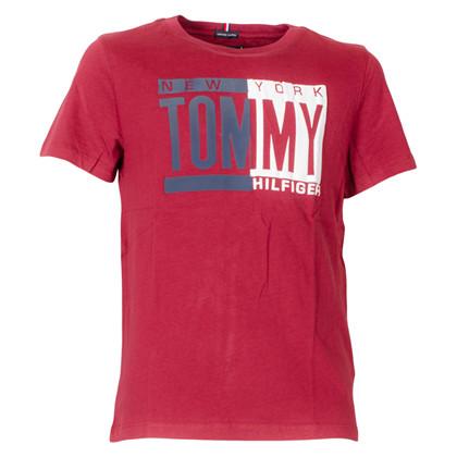KB0KB04994 Tommy Hilfiger T-shirt BORDEAUX