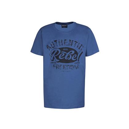 47070114 DWG Benson 014 T-shirt Mellemblå