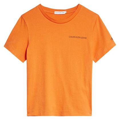 IB0IB00456 Calvin Klein T-shirt ORANGE