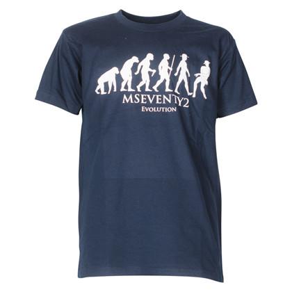 MSeventy2 Evolution T-shirt MARINE