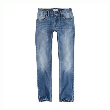 9E2043 Levis 510 Jeans MELLEMBLÅ
