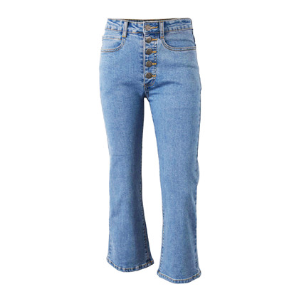7190768 Hound Button Denim Jeans 7/ Mellemblå