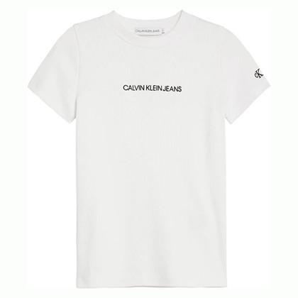 IG0IG00387 Calvin Klein T-shirt  HVID
