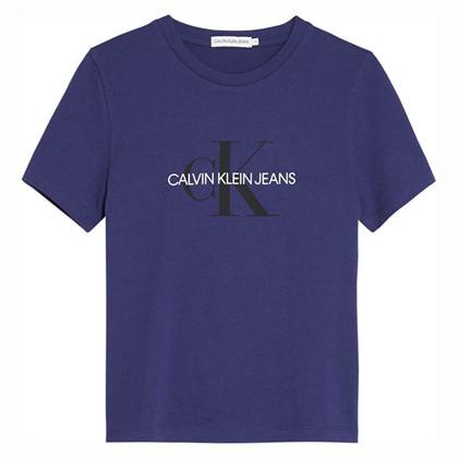 IU0IU00068 Calvin Klein T-shirt  MARINE