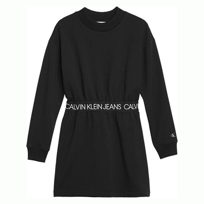 IG0IG00423 Calvin Klein Kjole  SORT