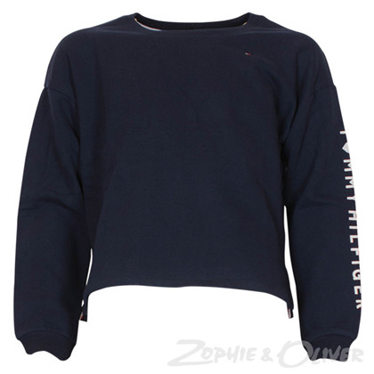 KG0KG02899 Tommy Hilfiger Sweat MARINE