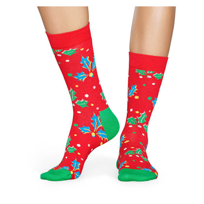 HOL01 Happy Socks Holly Sock RØD